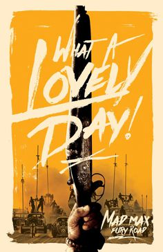 Mad Max: Fury Road Film Poster