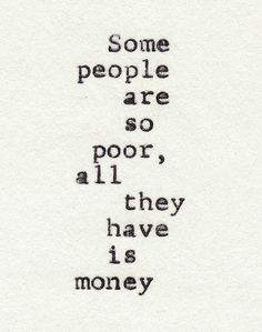 Poor People #quote