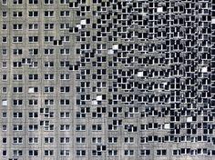 EVOL, Huge 'Buildings' Mural, Paris - unurth   street art #art #street #fun