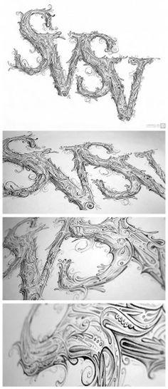 svsv.jpg (1032×2379) #illustration #lettering