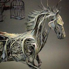 Incredible Fantasy Sculptures by Ellen Jewett