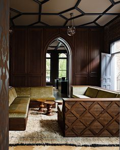 Gothic Office in an 1870s Historic Gothic Revival Building