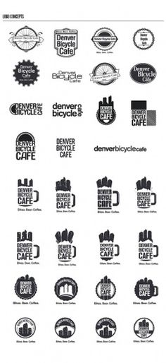 Design;Defined | www.designdefined.co.uk #cycle #logo #denver #bicycle