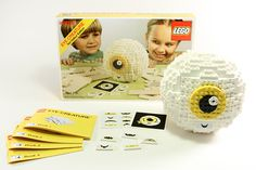 Invisible Creature Speaks #lego #packaging #vintage #made #game #hand #toy