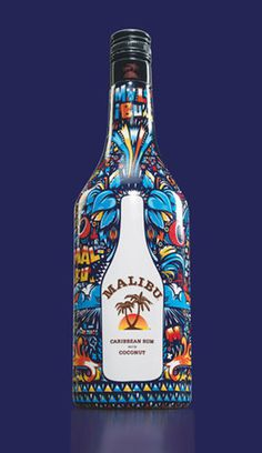 Malibu Art Series, Niark1 - TheDieline.com - Package Design Blog #packaging