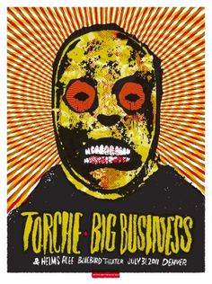 40 rovers #poster #rock #torche