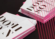 Graphic-ExchanGE - a selection of graphic projects - Kerry Ropper #domison #paprika