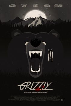Grizzly Movie Poster