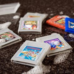 Game Boy Cartridge Soaps