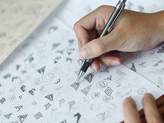 Logo sketching by Bratus #Bratus #typeface #sketch #logo #vietnam #symbol #icon