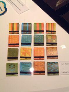 Saul Bass matchbooks #bass #saul #design #color #matchbook