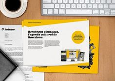 Más tamaños | Nueva Identidad Corporativa de Butxaca, l'Agenda Cultural de Barcelona* | Flickr: ¡Intercambio de fotos! #design #branding
