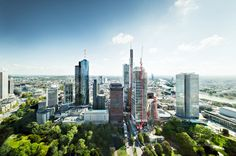 Urban Landscapes of Frankfurt by Johannes Heuckeroth #urban #photography #inspiration