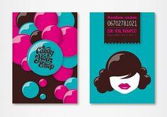 CandyHairShop / 2011 on the Behance Network #hairdresser #salon #design #candy #identity #web