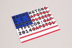 TypeCon 2014 - Conference ID on Behance