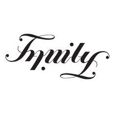 Family Ambigram