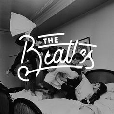 The Beatles - Lettering by author unknown