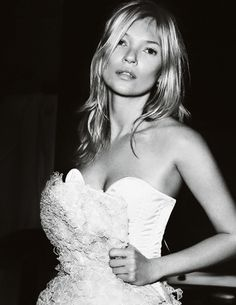 Kate Moss by Mario Testino for Vogue UK