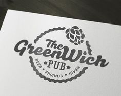 Greenwich pub #logo