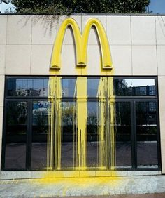 zevs9.jpg (image) #graffiti #mcdonalds