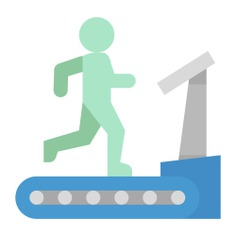 See more icon inspiration related to gym, run, train, wellness, walk, sports and competition, work out, fitness, treadmill, training, electronics and exercise on Flaticon.