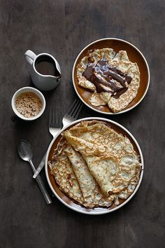 Creps & chocolate #chocolate #food