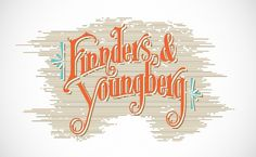 Finnders & Youngberg | Jakshop #swash #type #lettering #typography