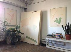 BRICK HOUSE #studio #plants #art #fine
