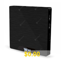 W95 #Amlogic #S905W #Android #TV #Box #Android #7.1 #/ #2.4GHz #WiFi #/ #100Mbps #/ #H.264 #H.265 #/ #Support #4K #- #BLACK