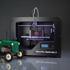 Replicator 2 Desktop 3D Printer by MakerBot #tech #flow #gadget #gift #ideas #cool