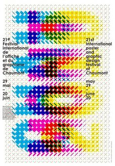 Karel Martens: Chaumont | iainclaridge.net #poster