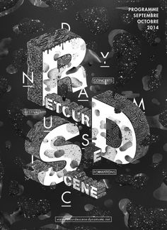 RDS Poster / Patrick Garbit #poster #design