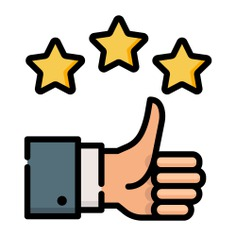 See more icon inspiration related to good, like, finger, organization, thumbs up, stars, thumb up, hands, business, hands and gestures, gestures and business and finance on Flaticon.