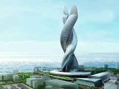 Infosys Cobra Towers the ghost tower #modern #design #towers #architecture #cobra