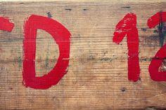 Más tamaños | San Fermines. Pamplona | Flickr: ¡Intercambio de fotos! #wood #lettering #red