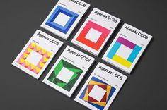 Agenda CCCB — Hey studio #cover #geometry #brochure