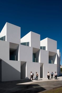 """The Nursing home of Aires Mateus Architects through the eyes of Fernando Guerra   Yatzerâ""""¢ #abstract #facade #modern #architecture #minimalist"""