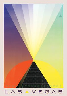 Expedia Travel Posters #light #sun #pyramid #las vegas