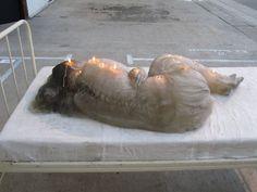 A.F. Vandervorst - Human Candle #sculpture #conceptual #human #candle #af #vandervorst