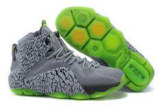 Nike Air Jordan 12 Retro Xii Mens Hot on Sale Light Gray Green