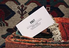 Knut | Showcase | 25ah #business card