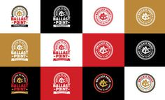 Ballast Point Brewing & Spirits #logotype #identity