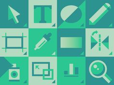 A Cautionary Word on How Tos #illustration #icons #green