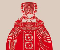 King of Hell | Flickr - Photo Sharing! #cut #intricate #chinese #paper #detail