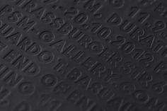 PSM Eduardo Basualdo - Studio Hausherr #invitation #card #typography