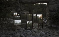 in situ : almalé bondia #photo #almale #bondia #photography #nature #art #forest #instalation