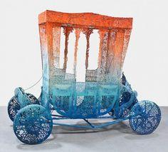 Kyle James Dunn's Patterened Steel Sculptures « Beautiful/Decay Artist & Design #sculpture