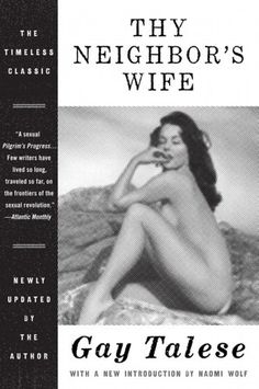 The Book Cover Archive: Thy Neighbor's Wife, design by Allison Saltzman #cover #book