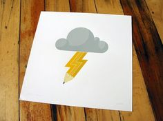 grayhood - dan gneiding graphic design #cloud #dan #gneiding #poster #pencil