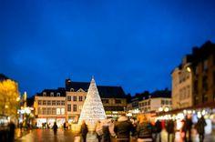 4 Ceramics Christmas art tree in Hasselt Belgium
